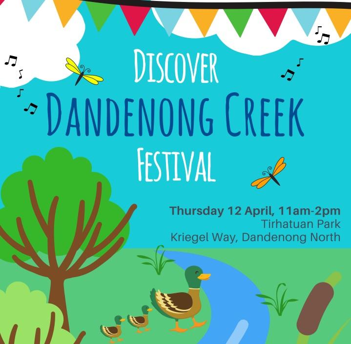 Discover Dandenong Creek Festival